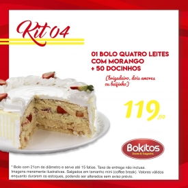 Kit 4  - 50 Doces